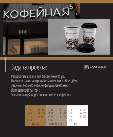 Дизайн стаканчиков
