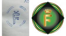 Отрисовка логотипа по эскизу заказчика.