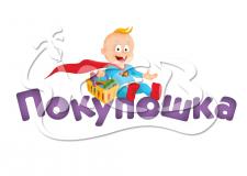 Логотип интернет-магазина детских товаров