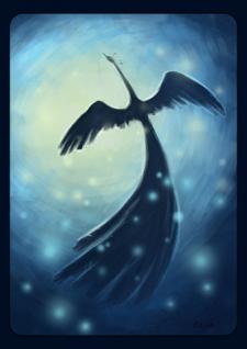 """Рисунок """"Синяя птица"""""""