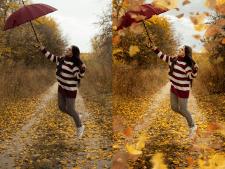 Добавление эффектов на фото