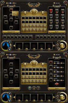разработка игрового интерфейса
