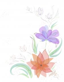 Векторная иллюстрация/Цветы