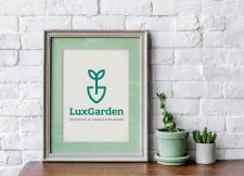 Лого ландшафтный дизайн и озеленение