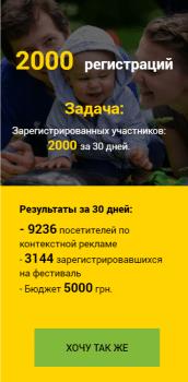 Продвижение ко «Дню мам» в Киеве