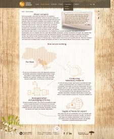 Сайт по производству и доставки мёда