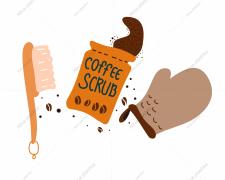 Coffee scrub.