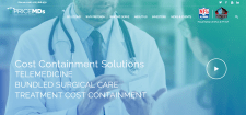 Сайт компании по страхованию здоровья, США