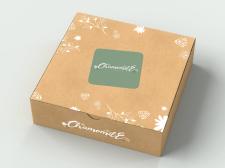 Дизайн фірмової коробки для косметичного бренду