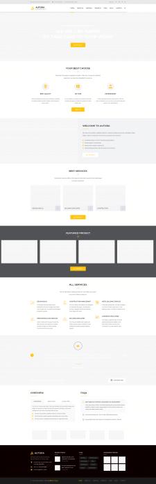 HTML на WordPress CMS