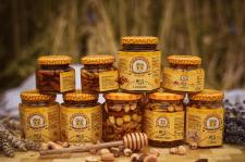 Создание этикетки для баночек с мёдом