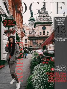 Создание крутых обложек для портфолио (журнала)