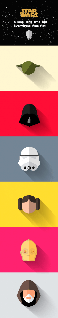 Star Wars Flat иконки