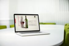 Сайт продажи вина