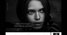 Сайт портфолио фотографа