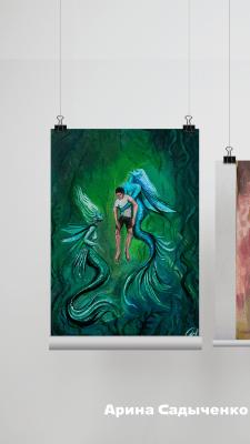 Оформление работ художников для онлайн-выставки