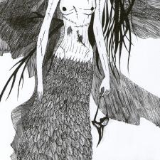 иллюстрация для зина Sacral La_Lune