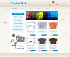wickedfishtees.com - Магазин футболок
