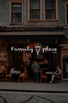 Логотип для семейного кафе