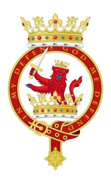 Геральдический знак Ордена Восстающего Льва