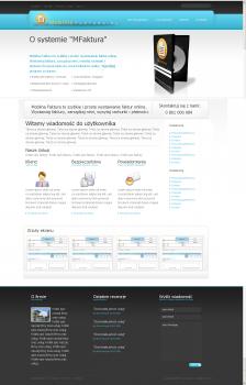 Дизайн для сайта онлайн-счетов