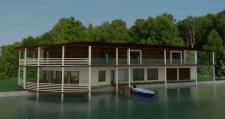 СПА-отель на берегу озера (Кагарлык)