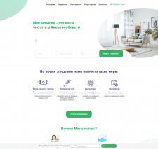 Создание сайта mee.services для дальнейшего SEO