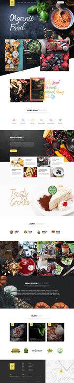 Сайт органической пищи.