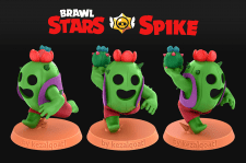 Brawl Stars. Spike