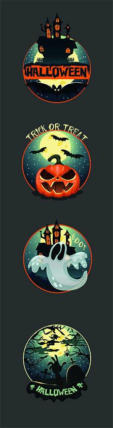 Стикеры Halloween