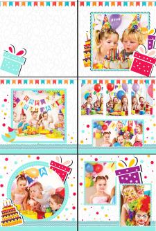 Фотокнига для детского Дня Рождения