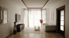 Визуализация и дизайн гостинной