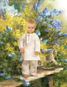 Портрет под масляную живопись