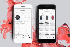 Instagram | Оформление магазина одежды из США