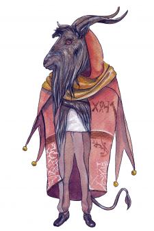 Книжный мистический персонаж