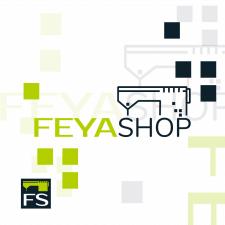 Логотип и фавикон для сайта feya-shop.com.ua