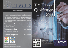 Афиша для международного конкурса T.I.M.E.S. LQ