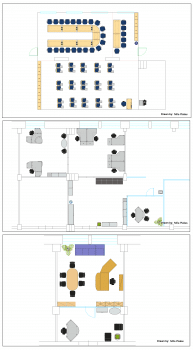 План расстановки офисной мебели