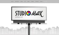 """Разработка сайта """"STUDIOMAX"""""""