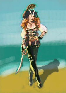 Woman pirate