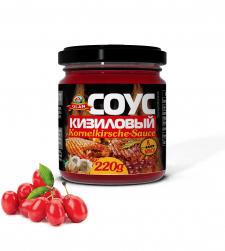 Дизайн этикетки для кизилового соуса
