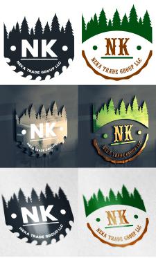 Логотип для компании занимающейся деревообработкой