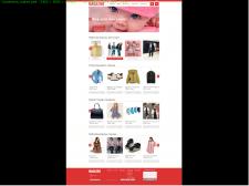 макет інтернет-магазину
