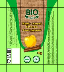Упаковка фруктово-орехового батончика