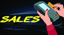 Векторная иллюстрация для рубрики - Продажи