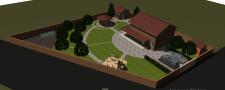3D модель участка
