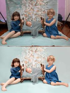 Ретушь детских фото