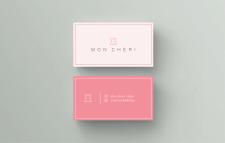 Логотип и визитка для компании MON CHERI
