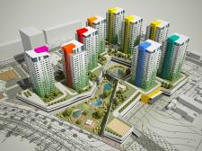 конкурсный проект застройки жилого квартала