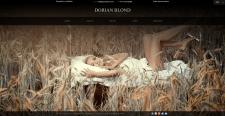 Сайт фотографа Dorian Blond